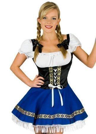 Fancy me Déguisement de Bavaroise pour femme, taille 36-38