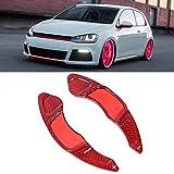 JYCX 2Pcs Auto Lenkräder Schaltpaddel, Für Volkswagen Vw Golf Mk7 Scirocco Sagitta GTI Lamando Gts Variant R-Line Steering Wheel...