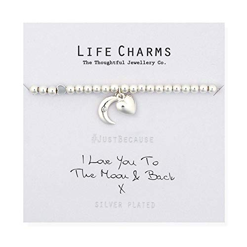 Life Charms Love You To The Moon & Back Bracelet