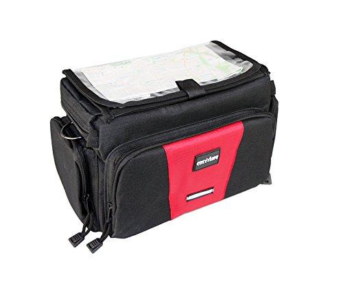 Cosy Life® Premium Fahrradtasche Lenker / Lenkertasche für Kameras / Kameratasche für DSLR | Schnellverschlusssystem