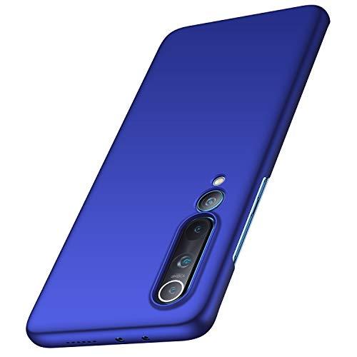 anccer Cover Xiaomi Mi 10 PRO 5G, [Alta qualità] [Ultra Slim] Anti-Scratch Hard PC Case Custodia per Xiaomi Mi 10 PRO 5G(Liscio Nero)