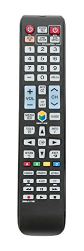 New BN59-01179B Replace Remote fit for Samsung Smart LED 3D TV UN46H7150AF UN48H8000AF UN50HU8500F UN55HU8500F UN60H7100AFXZA UN60H7150AF UN65HU8500F UN65H7150AF UN75H7100AF Sub BN59-01179A