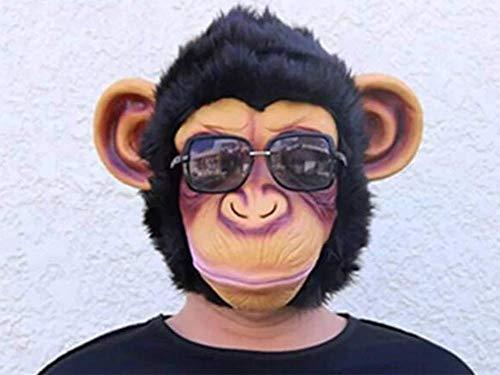MIANJU Máscara del Partido De Silicona Máscara del Horror