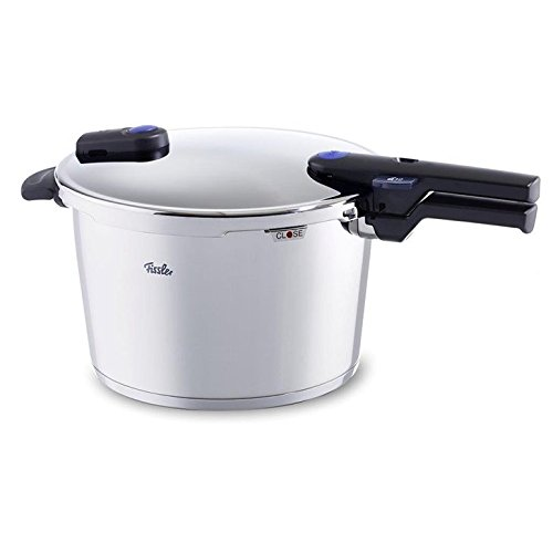 Fissler FISS-60070008079 vitaquick Pressure Cooker Stainless Steel Induction, 8.5 Quart, silver