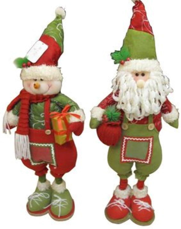 The Snowman DecorationsSnowman Christmas DecorationsCute Snowman with Gift Box Santa with Gift Bag Christmas for Gifts DecorationB (Snowman Christmas Decor)