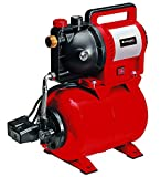 Einhell Sistema doméstico de agua GC-WW 1045 N (1050 W, 4500 L/h, diseño en acero inoxidable, 4.8 bar, interruptor de encendido y apagado, indicador de llenado de agua, tornillo de drenaje de agua)