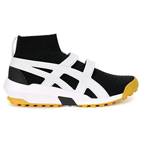 Onitsuka Tiger Asics Knit Trainer, Black/White, Size 10