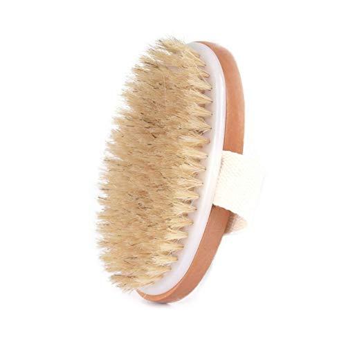 Corps sec pinceau naturel corps peau sèche organique brosse en bambou humide Bain Brosse Matériel fiable