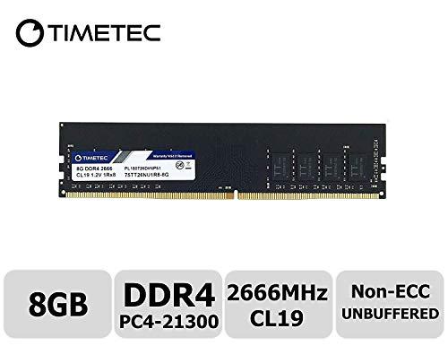 Timetec Hynix IC DDR4 2666MHz PC4-21300 Unbuffered Non-ECC 1.2V CL19 1Rx8 Single...