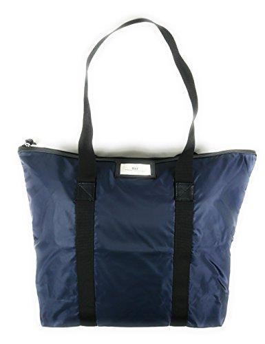 DAY et Damen Shopper GWENETH BAG in Dunkelblau aus strapazierfähigem wasserabweisendem Nylon - 3174475901_bl