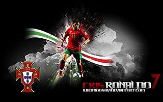 Wayne Dove Cristiano Ronaldo Póster en Seda/Estampados de Seda/Papel Pintado/Decoración de Pared 698566581