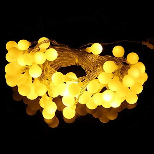 GKJRKGVF Led-lichtsnoer met usb-leds, voor festivals, kerstverlichting, kerstdecoratie, 10 m, 60 leds