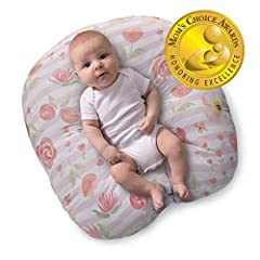 THE PERFECT NEST: Perfect place for newborns to kick and coo in comfort and provide you with a hands-free moment. Designed with a unique recessed interior to cradle baby's bottom, keeping your baby relaxed and safe. Designed for your baby's supervise...