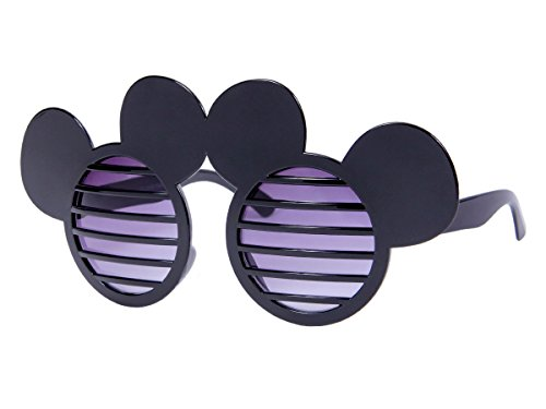 Lunettes humoristique pour adultes et Ados (F-041) accéssoire pour compléter votre déguisement ou pour amuser vos amis Lors de soirée déguisée festival beach party original, choisir:F-041 souris