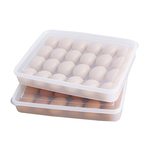 Stackable Egg Containers