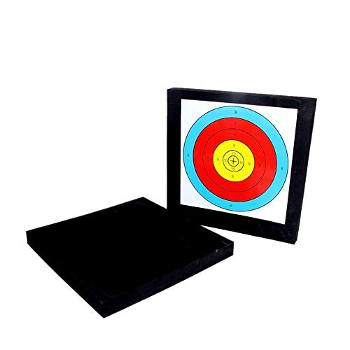 Junta de Espuma Blanco de la Flecha del Tiro al Arco de Espuma de Destino Self Healing Arco Caza Moving Target Practice para Arrow Arco dardo al Aire Libre formación de precisión