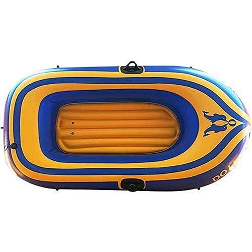 SHKUU Botes Kayak inflables para Adultos niños, Kayaks Aguas bravas Turismo, Bote Goma para Rafting, Bote Doble Engrosado