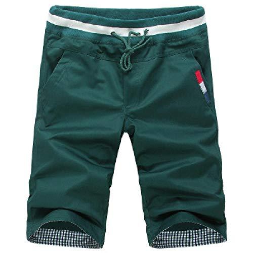 Pantalones cortos para niños de U/A, transpirables y frescos. Verde verde 3XL