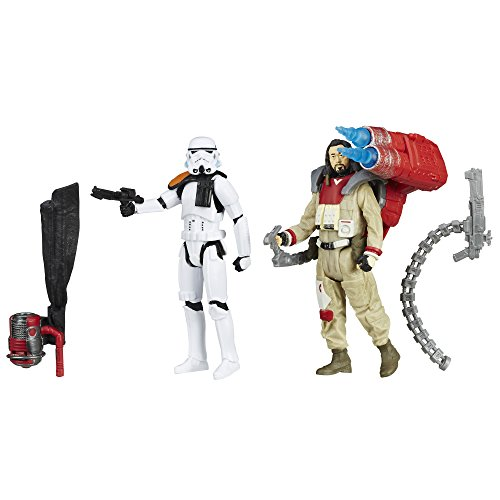 Hasbro Star Wars Rogue One Collection Baze Malbus und Imperial Stormtrooper im Set