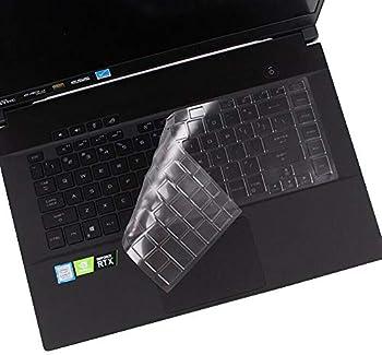 CASEDAO Silicon Keyboard Cover for ASUS ROG Strix Scar 15 Gaming G532LWS G531GV-DB76 G531GT-BI7N6 ROG Strix G15 G512LW-ES76 G512LV-ES74 GL531GT-EB76 15.6 Gaming Laptop - Clear/Transparency