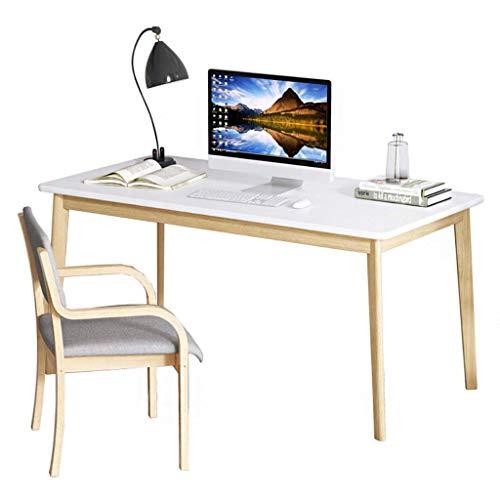 keduoduo Escritorio Simple Home Estudiante Escritorio Dormitorio One Table Computer Desktop Escritorio Escritorio Escritorio Mesa de Esquina Sólida,100 * 60 * 75CM