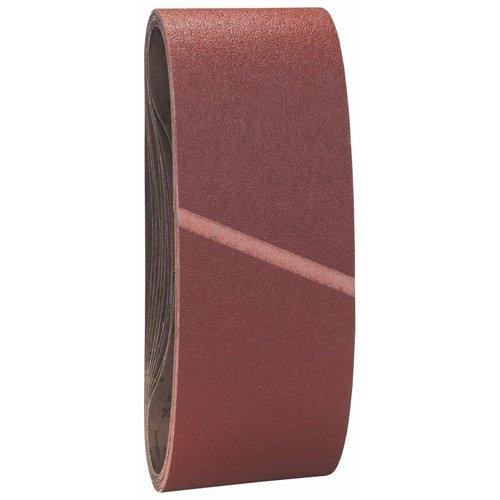 Bosch 2 608 606 135 Lot de 10 feuilles abrasives 100 x 610 mm, grain 60