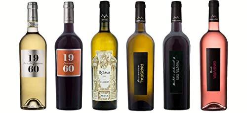 Box 6 Bottiglie Vini Rossi-Bianchi-Rosè - Casata Mergè -Sesto 21