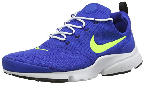 Nike Presto Fly, Zapatillas de Gimnasia para Hombre, Multicolor (Game Royal/Volt-Black/White 407), 40.5 EU
