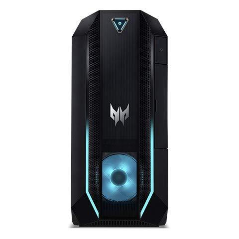 Acer Predator PO3-620 10th gen Intel Core i7 i7-10700 16 GB DDR4-SDRAM 512 GB SSD Desktop Black PC Windows 10 Home Predator PO3-620, 2.9 GHz, 10th gen Intel Core i7, i7-10700, 16 GB,