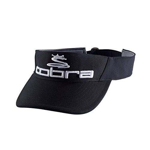 Cobra pour Homme Pro Tour Golf Visière, Homme, Noir/Blanc