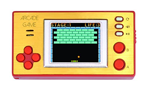 LEHAWU Handheld Portable Arcade Video Game Console iWawa Retro Pocket 150+ Games for Kids to Adult
