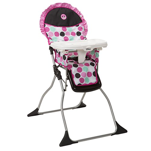 Buy Disney Baby Simple Fold Plus High Chair, Minnie Dotty