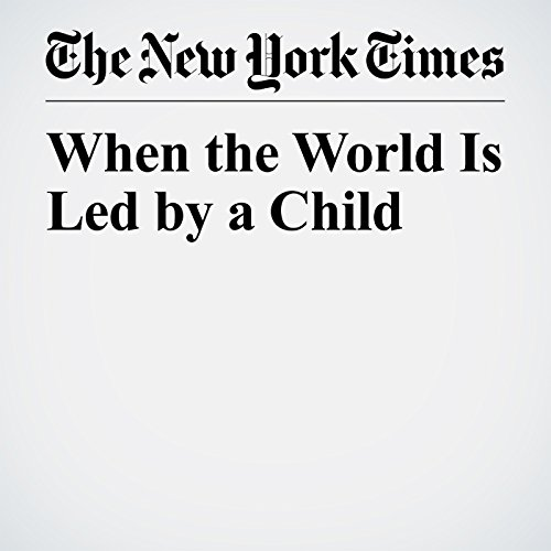 When the World Is Led by a Child copertina