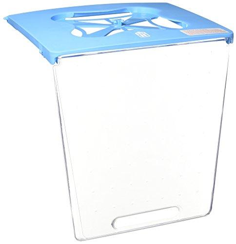 Catit Türmontage Ersatz für Katzentoilette mit Haube, Blau