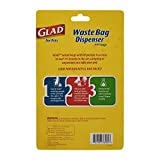 Glad for Pets Extra Large Tropical Breeze Scented Dog Waste Bags and Dispenser | Poop Bags For Dogs, 30 Count