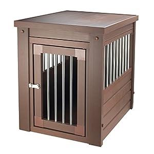 New Age Pet ecoFLEX Pet Crate/End Table, Medium, Russet