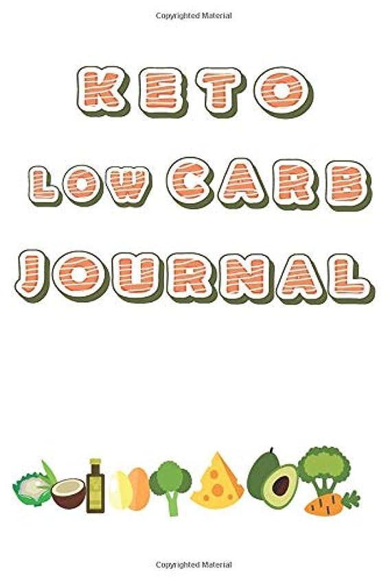 広範囲にビリー承認KETO Low CARB Journal: Ketogenic Meal Tracking including Macros Nutrition, Water, Sleep and Intermittent Fasting Size 6x9