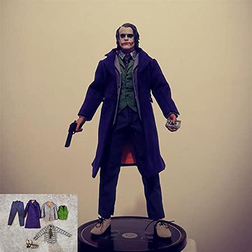 LIANGLMY Figur 1/6 Clown lila mantelanzug Set cpc02 männliche Joker Kleidung Model fit 12 '' Soldier Action Figure Puppen