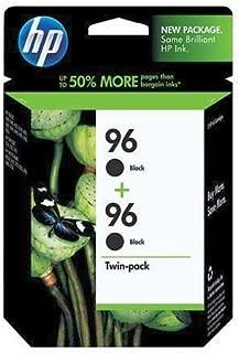 HP Genuine OEM C8767WN (HP96) HP 96 Twin Pack Black Inkjet Cartridges (800 Pages Each)