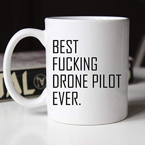 N\A El Mejor jodido piloto de Drones Siempre Taza Ocupacional Taza para piloto de Drones Drone Pilot39S Taza Taza para él Regalo de piloto de Drones para piloto de Drones