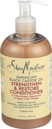 Shea Moisture Strengthen & Restore Conditioner 384ML, Negro, Estandar