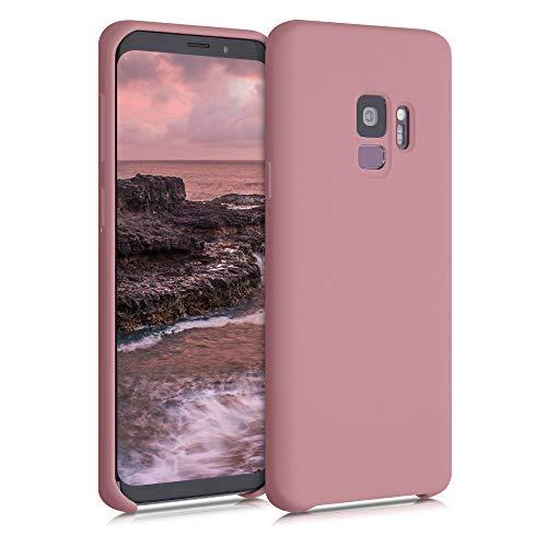 kwmobile Hülle kompatibel mit Samsung Galaxy S9 - Hülle Handyhülle gummiert - Handy Hülle in Rose Tan