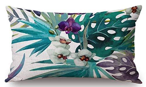 Funda de cojín de asiento cuadrado Funda de almohada de lino y algodón Funda de almohada moderna Funda de almohada simple Fundas de cojín de silla simple