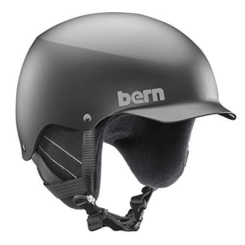 Bern Baker with Crankfit Helm, Matte Black, Größe S