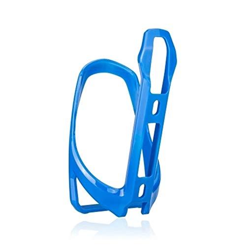 Tenedor de Jaula de Botella de Agua Soporte de Taza de Bicicleta Motocicleta Bike Beber Bottle Holder Jaulas para Botellas de Agua (Color : Azul, Size : One Size)