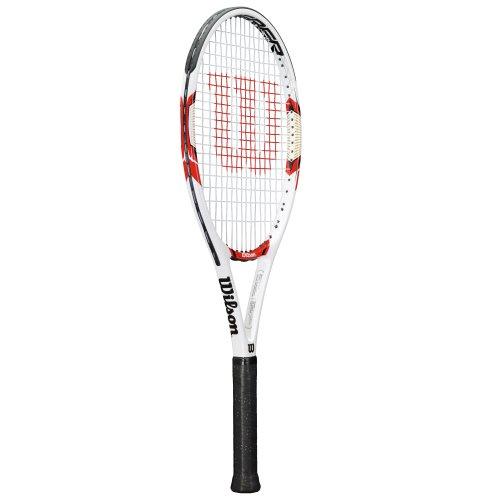 Wilson Federer 100 Racchetta da Tennis Adulto, G3 = 4 3/8