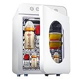 Babyflasche Sterilisator mit Trocknen, 22L Baby-Spielzeug Geschirr Kleidung UVsterilisator Schranktrockner, Multifunktionshaushaltsdesinfektionsschrank mit Nachtlicht, Smart-Warmlufttrocknung, 360 ° D