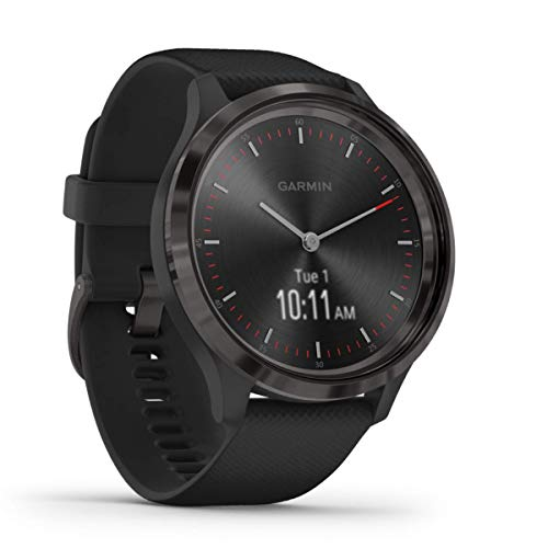 Garmin vívomove 3 – stilvolle Hybrid-Smartwatch mit analogen Zeigern & OLED-Display, Sport-Apps und Fitness-/Gesundheitsdaten, wasserdicht, 5 Tage Akkulaufzeit, Fitness Tracker, connected-GPS