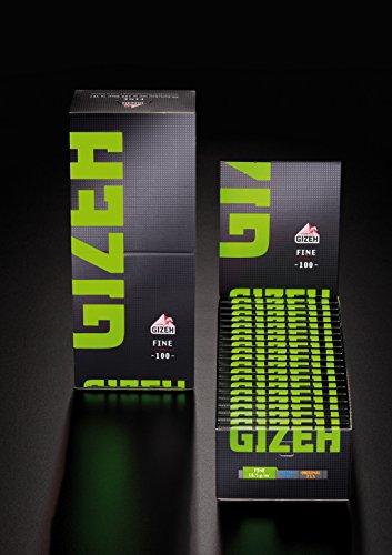 Gizeh Fine Magnet Zigarettenpapier Papers Blättchen 40x (2 Boxen)