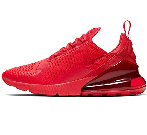Nike Air Max 270 Mens Running Shoes Cv7544-600, University Red/University Red-black, 10